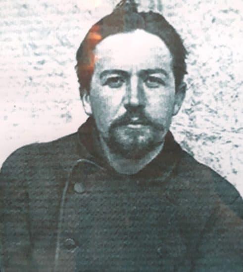 Фото Чехова в экспозиции Сахалинского областного краеведческого музея