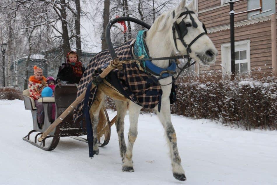 """Праздник «Арт-зима в Старом городе»пройдет 8 февраля. Фото музея """"Кижи"""""""