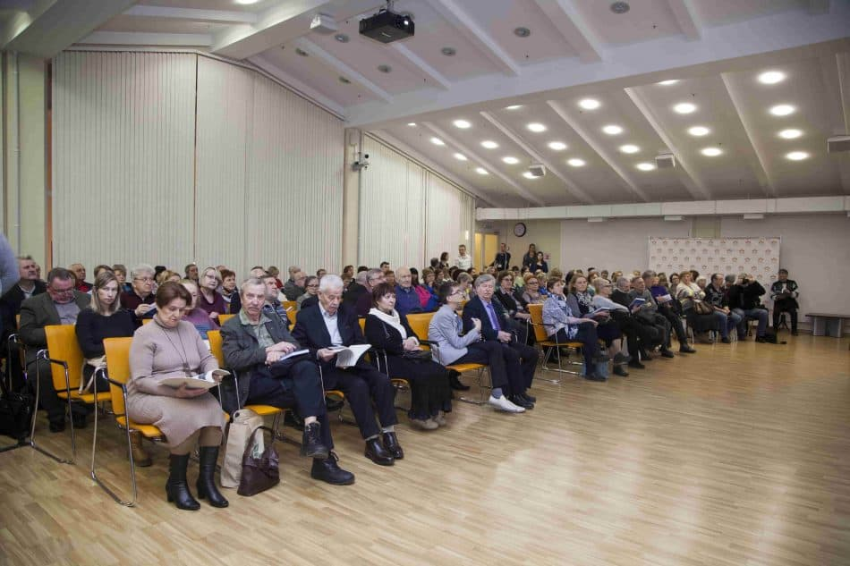 На презентации. Фото Виталия Голубева