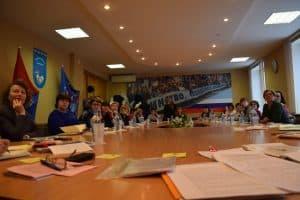 Дискуссия за круглым столом на Дне сельской школы-2018. Фото Марии Голубевой