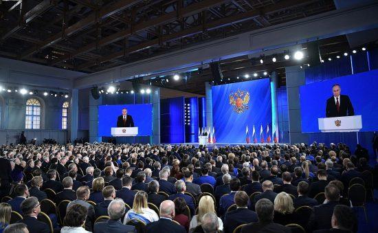 Послание Президента Федеральному Собранию. Фото: kremlin.ru