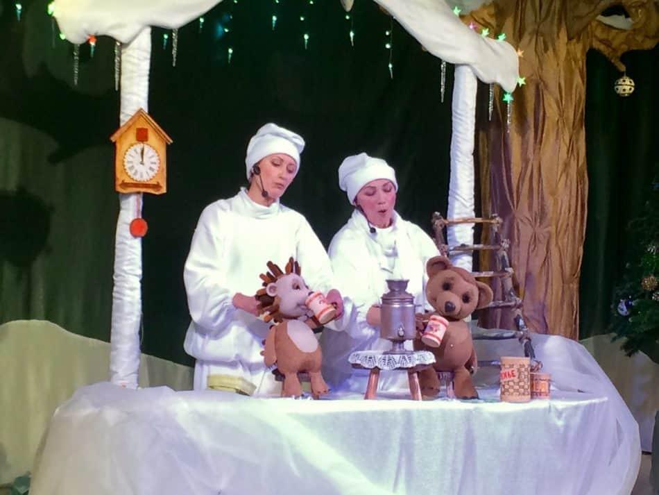 Новогодний спектакль в Театре кукол Карелии. Фото: vk.com/teatr_kukol_karelia