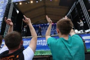 """Рок-фестиваль """"Воздух"""", проходивший в Карелии. Фото Владимира Ларионова"""