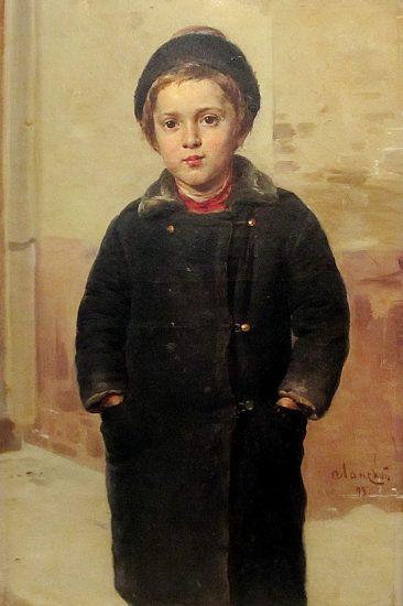 Александр Ланской. Мальчик. 1898 год