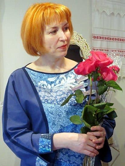 Альфина Ерохина. Член Гильдии мастеров Карелии, сегодня она возглавляет «Ляпачиху»