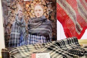 Надежда Четверикова. Тканый шарф  «Клеть»
