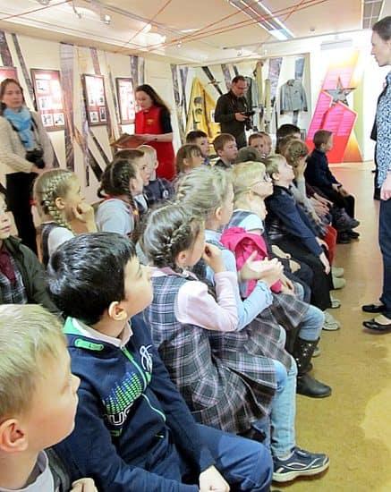 Детям сегодня в музее интересно