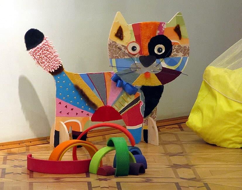 Фрагмент экспозиции. Кот из сказки