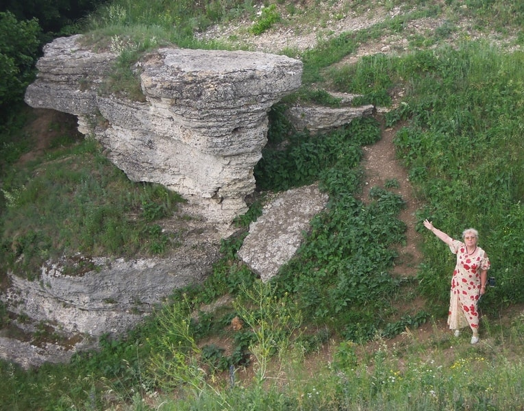 Воргольские скалы. Фото Лидии Винокуровой