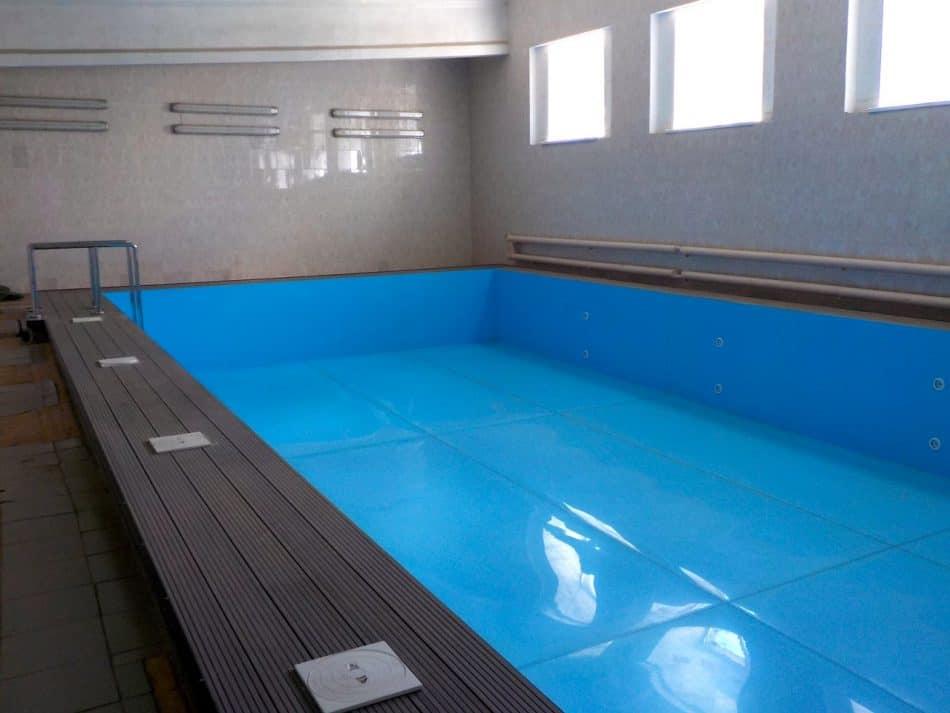 Неработающий бассейн лицея №13