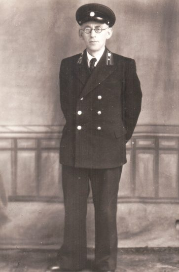 Дед Иосиф - служащий банка. Казань, 1950 год