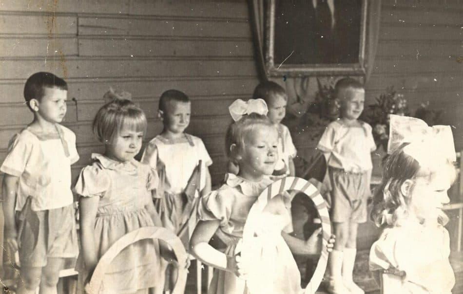 В детсаду. 1965 год