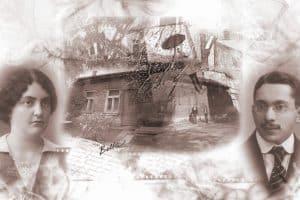 Дом Полыковских в Валге. Коллаж Беллы Гродинской. 2010