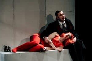 «Двое на качелях» театра «Приют комедианта» из Санкт-Петербурга