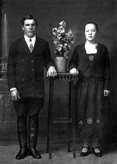 """1930 год. Маме 20 лет, папе 23 года"""