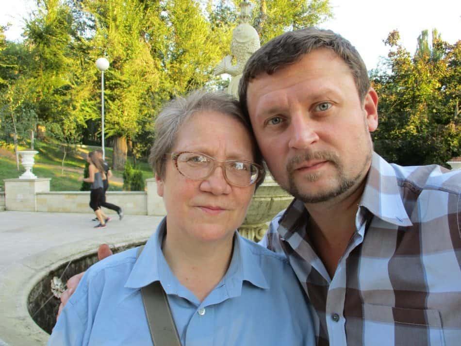 Александр Картушин с мамой