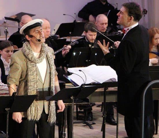 Михаил Тоцкий и Александр Картушин в Карельской филармонии