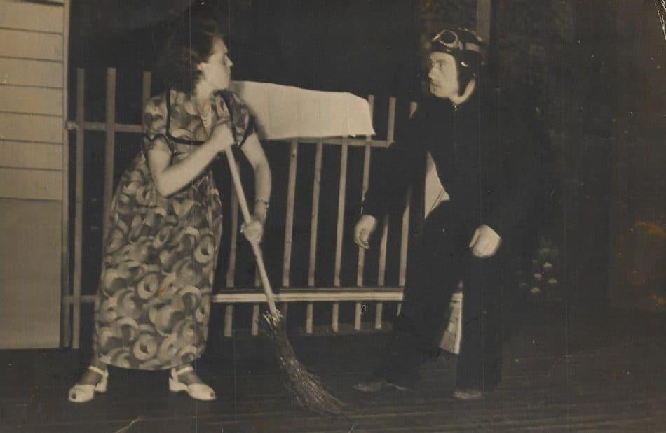 Мама и папа Ольги Лукашовой в народном театре