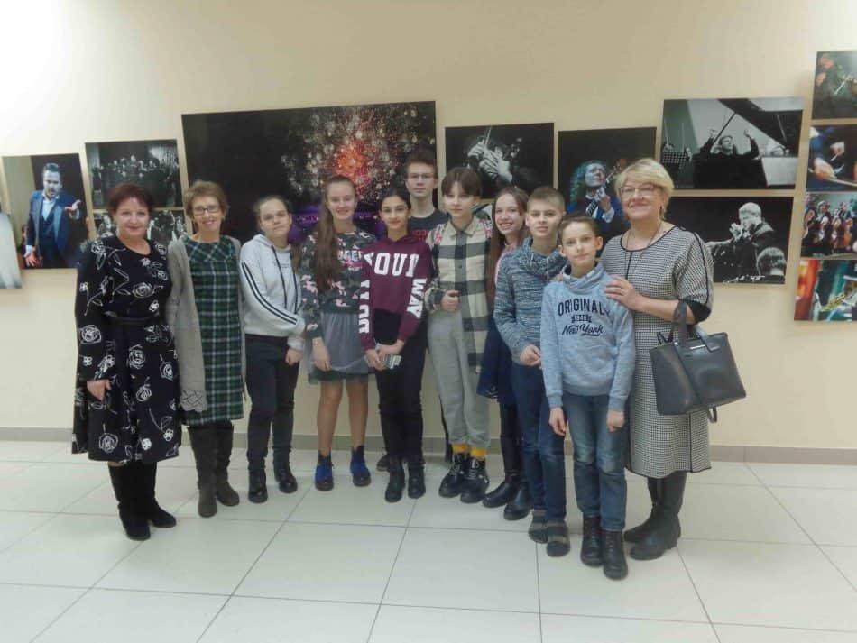 Ученики и преподаватели ДМШ имени Синисало в филармонии
