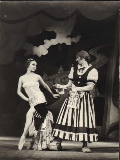 """Балет """"Тщетная предосторожность"""" в Музыкальном театре Карелии. 1975 год"""