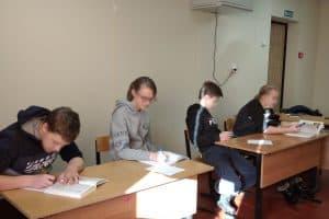 Ученики сгоревшей школы посёлка Луусалми приступили к занятиям