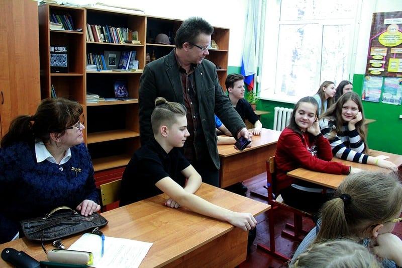 Владимир Зорин в Шокше. Фото Ирины Ларионовой