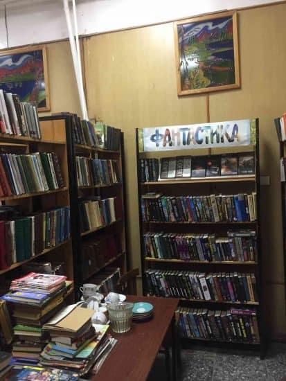 Гирвас. В библиотеке. Фото Яны Жемойтелите