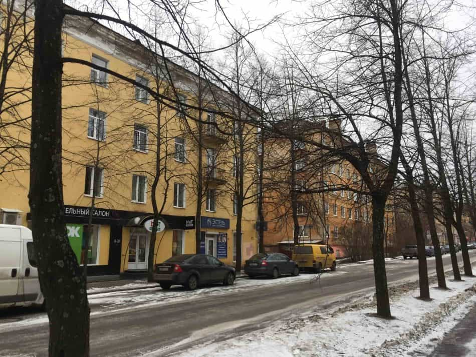 Петрозаводск, ул. Горького. Фото Яны Жемойтелите