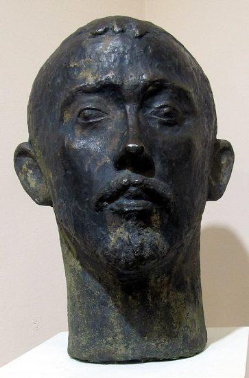 Людвиг Давидян. Портрет архитектора Эрнста Воскресенского. 1969