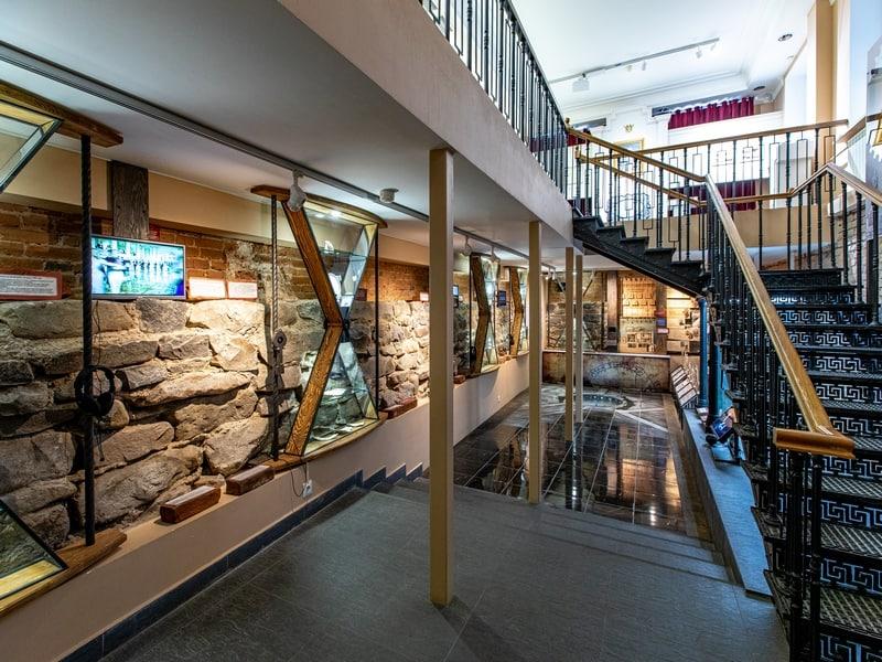 Экспозиция Истории круглой площади в Национальном музее