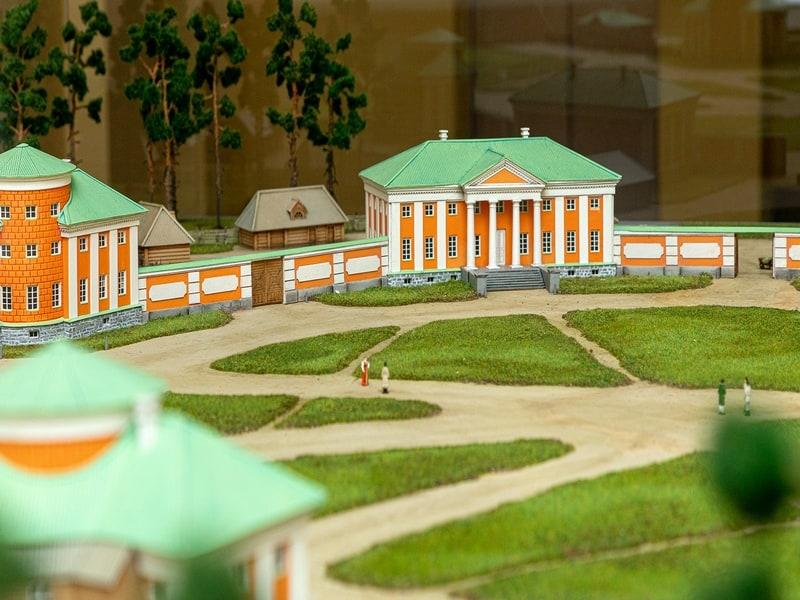 Фрагмент макета Круглой площади