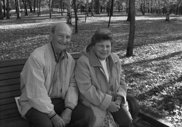 Софья Михайловна Лойтер и Иосиф Михайлович Гин. Фото Ирины Ларионовой