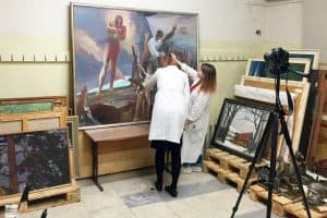 142 произведения пополнили фонды Музея изобразительных искусств Карелии