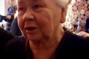 Один из последних снимков Валентины Михайловны Котовой. Октябрь 2019 года. Дом актера