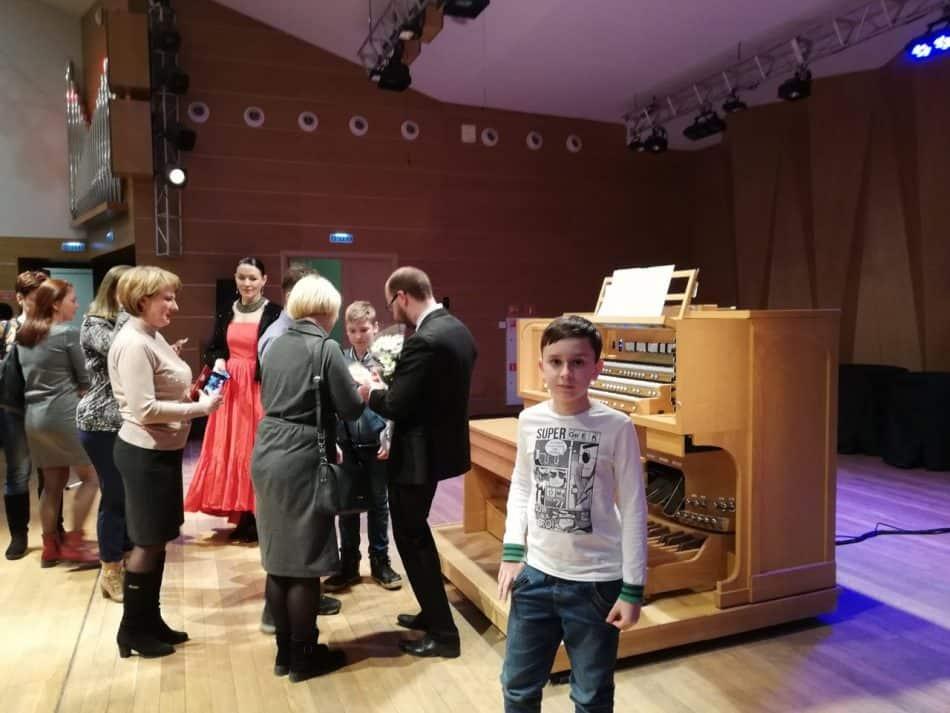Питер ван дер Звааг после концерта