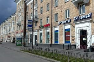 Карантин. Петрозаводск, проспект Ленина, 12 часов. Фото Ирины Ларионовой