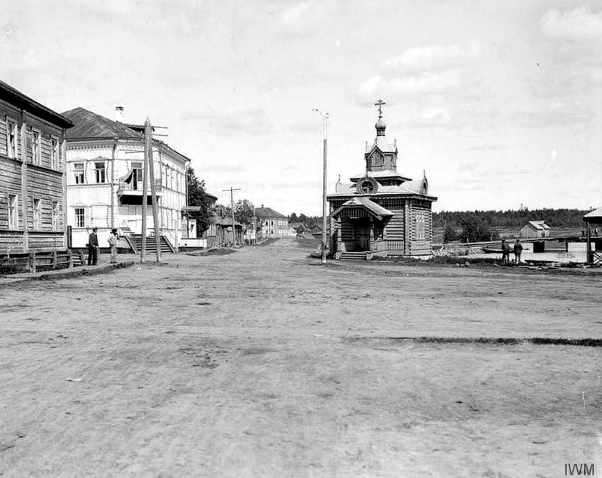 Повенец. Часовня Николая Чудотворца. 1910. Сайт: Sobory.ru