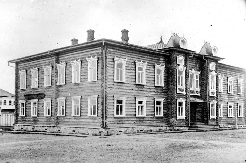 Городское училище. Повенец. Фото из фондов РГИА