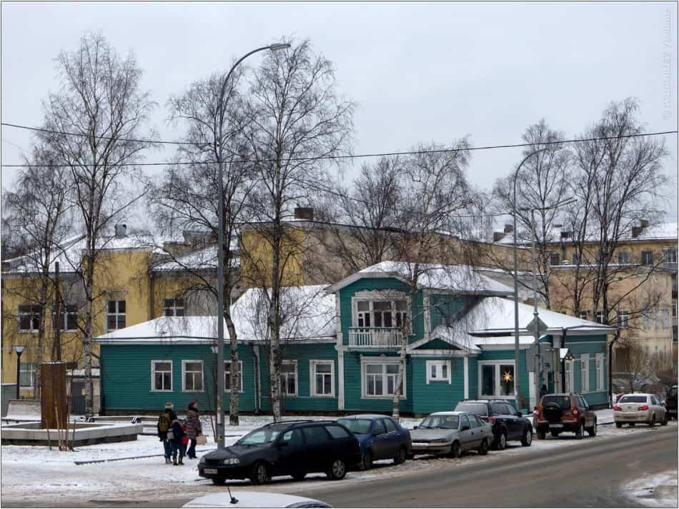 Бывший дом Каца. Фото Владимира Григорьева