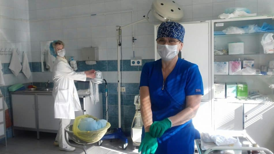 Республиканская больница имени Баранова. Фото Ирины Ларионовой