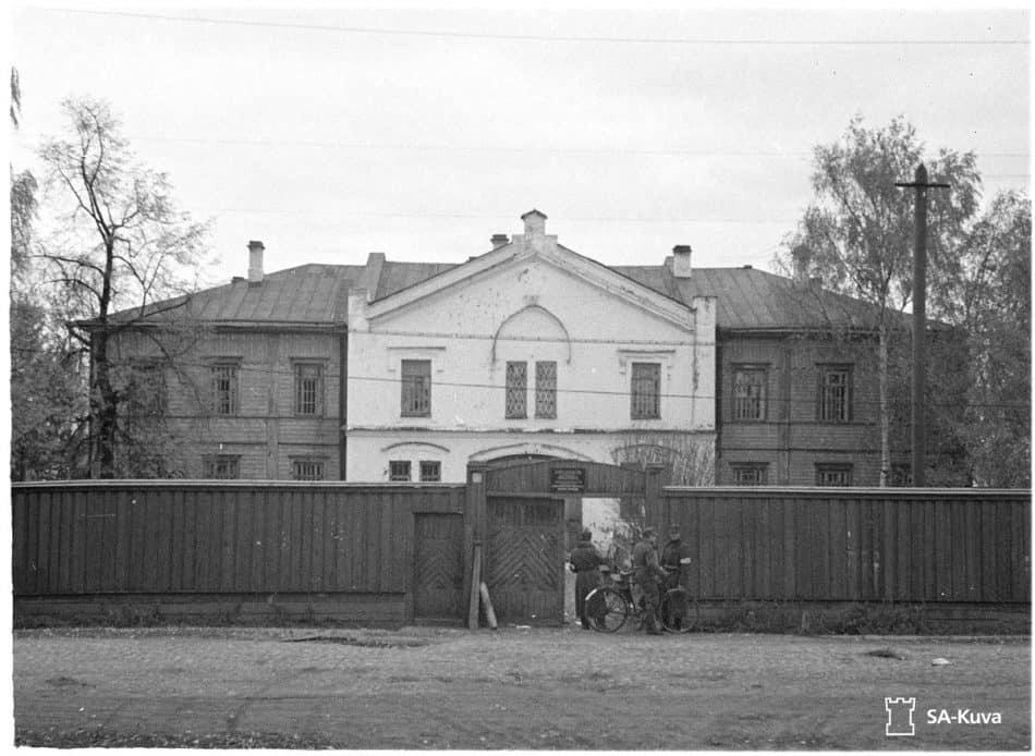 Отделение для душевнобольных. Фото 1941 года