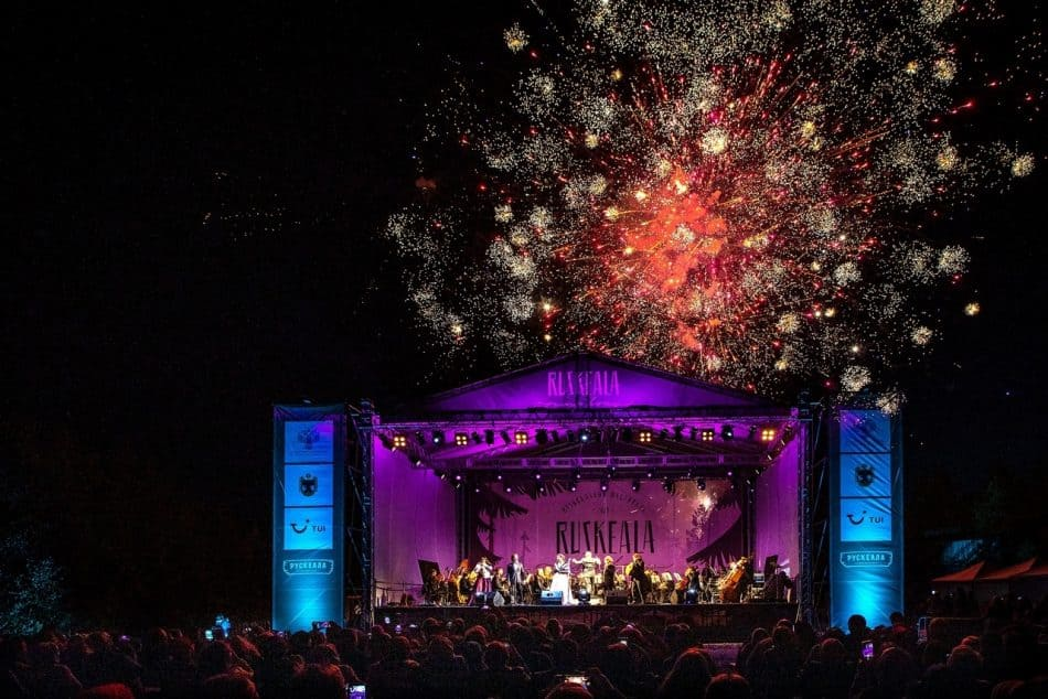 Музыкальный фестиваль Ruskeala Symphony в 2019 году. Фото Леонида Николаева