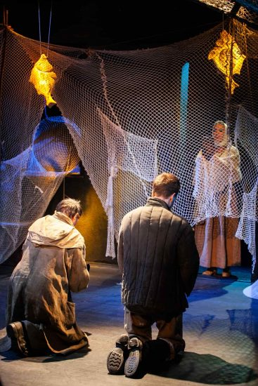 Предпоказ спектакля «Голомяное пламя». Фото из группы vk.com/nationaltheatre
