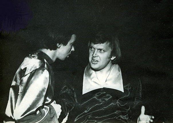 Андрей Грибушин в роли Гамлета. Фото из архива театра ТиС. vk.com/club1444