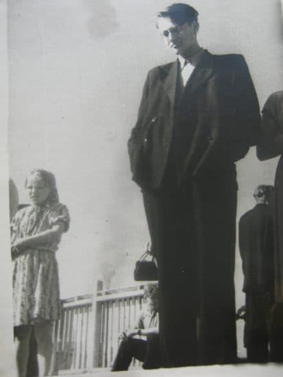 Борис Гущин в 10 классе. Фото из личного рахива