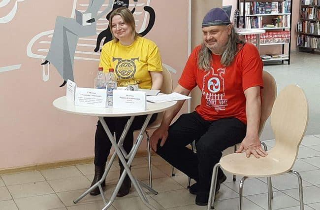 Елена и Владимир Софиенко. Фото Марины Волковой, up74.ru