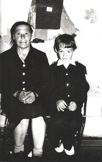 Володя и бабушка Анна Васильевна