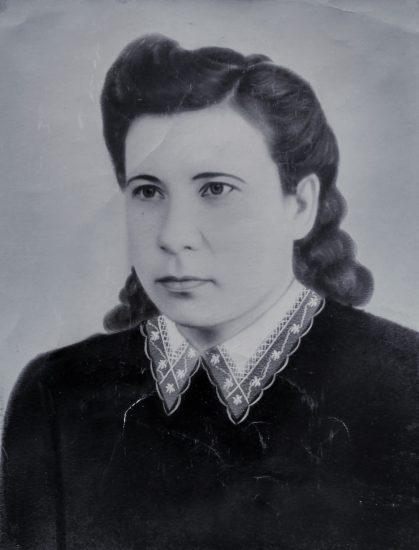 Зинаида Калинникова через несколько лет после войны. Более ранних снимков не сохранилось