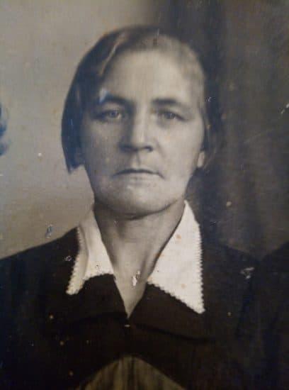 Бабуля. Фото сделано до войны. Фото из личного архива Валентины Михкиевой