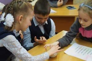 В Нововилговской школе. Фото Марии Голубевой